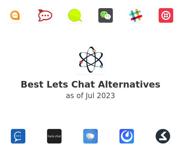 Best Lets Chat Alternatives