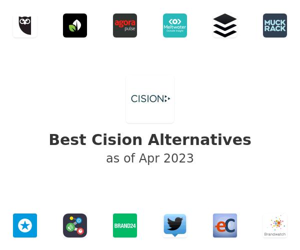 Best Cision Alternatives