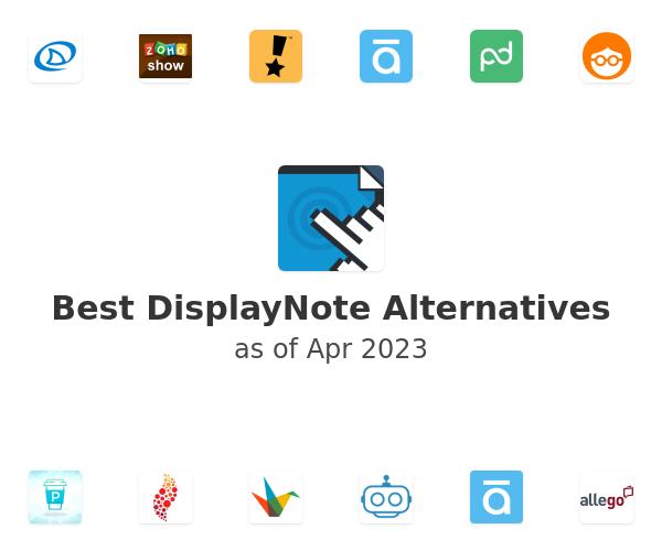 Best DisplayNote Alternatives