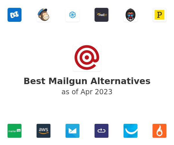 Best Mailgun Alternatives