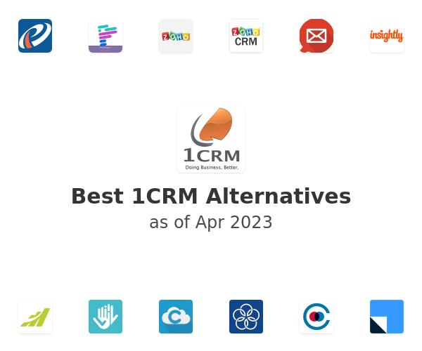 Best 1CRM Alternatives