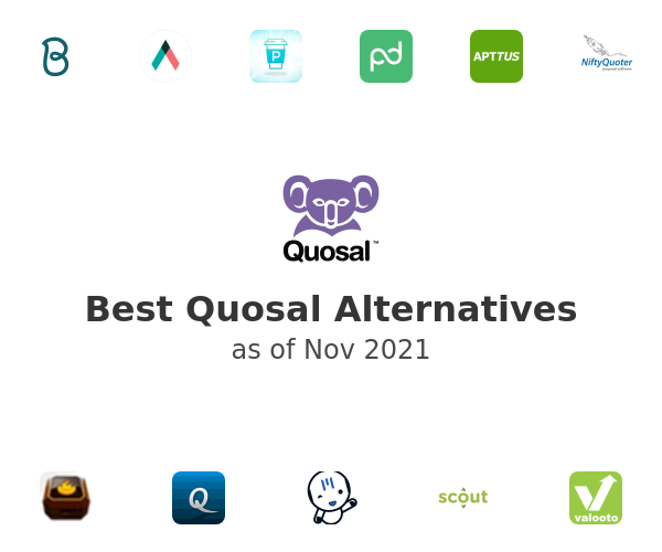 Best Quosal Alternatives