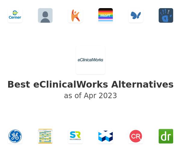Best eClinicalWorks Alternatives