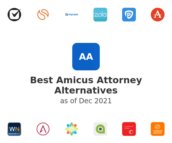 Best Amicus Attorney Alternatives