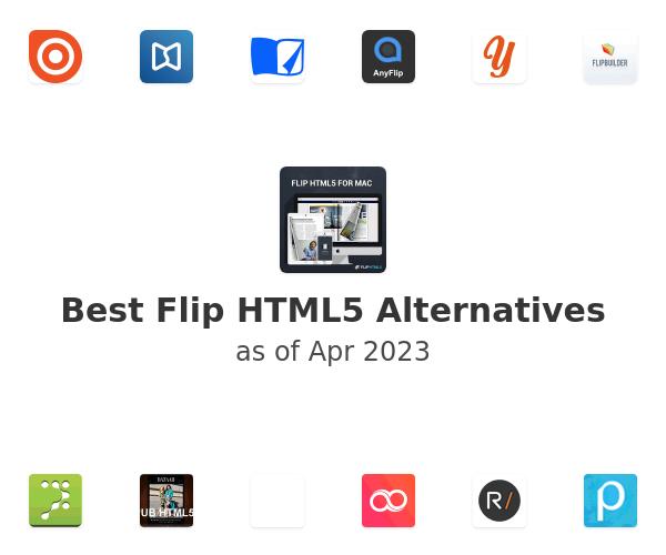 Best Flip HTML5 Alternatives