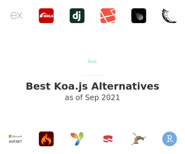 Best Koa Alternatives