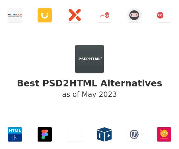 Best PSD2HTML Alternatives