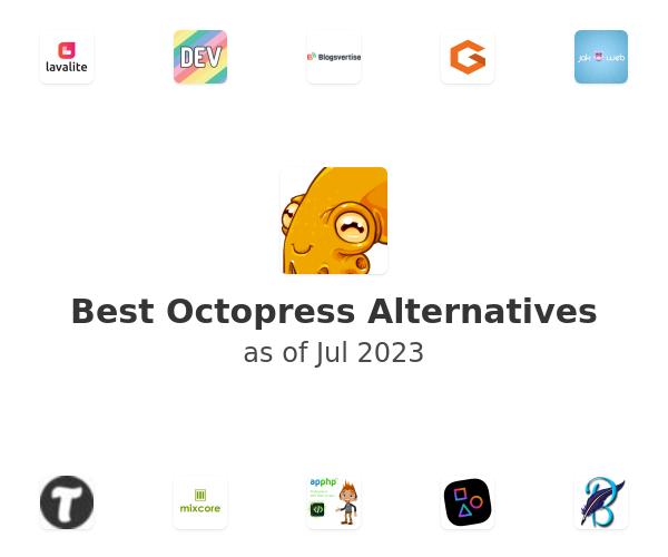 Best Octopress Alternatives