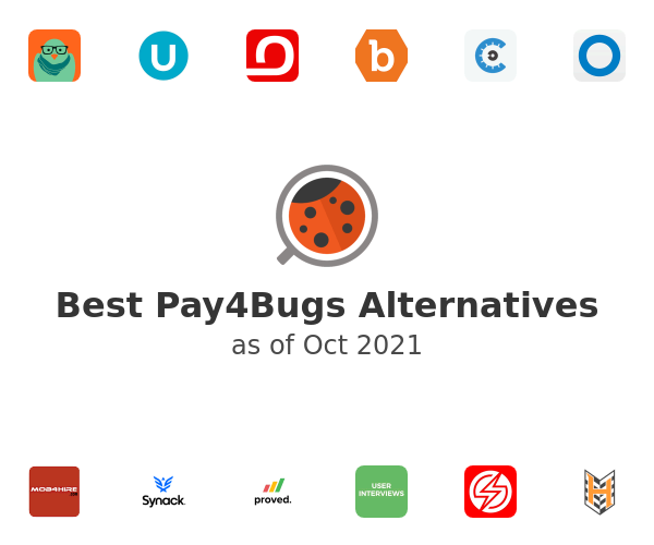 Best Pay4Bugs Alternatives
