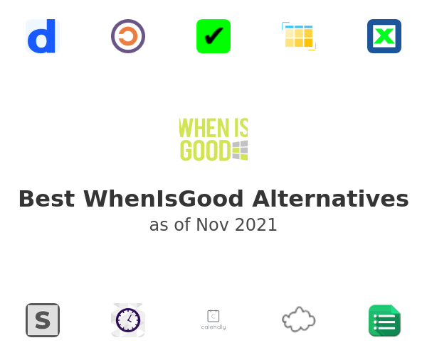Best WhenIsGood Alternatives