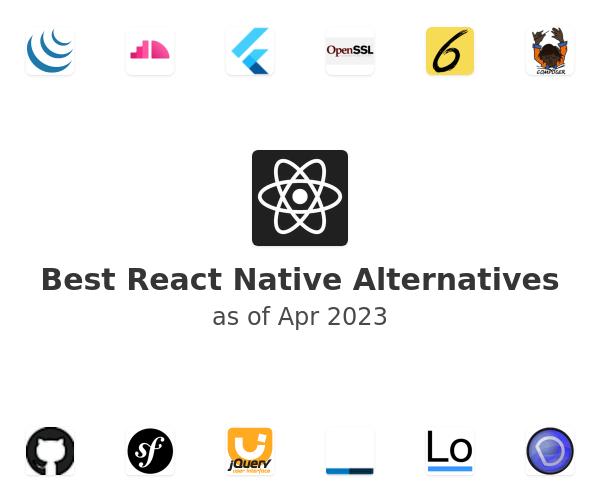 Best React Native Alternatives