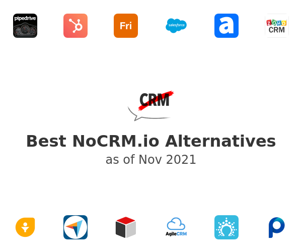 Best NoCRM.io Alternatives