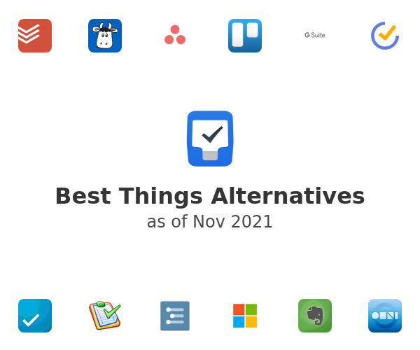 Best Things Alternatives