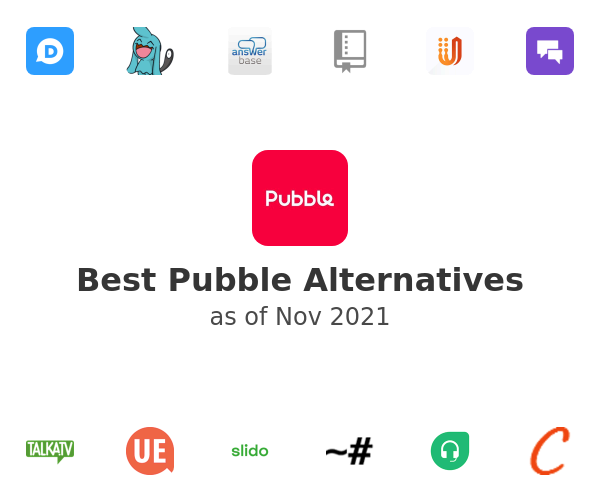 Best Pubble Alternatives