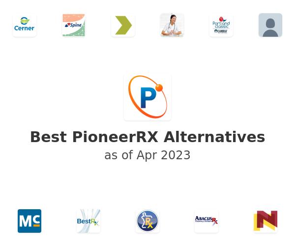 Best PioneerRX Alternatives