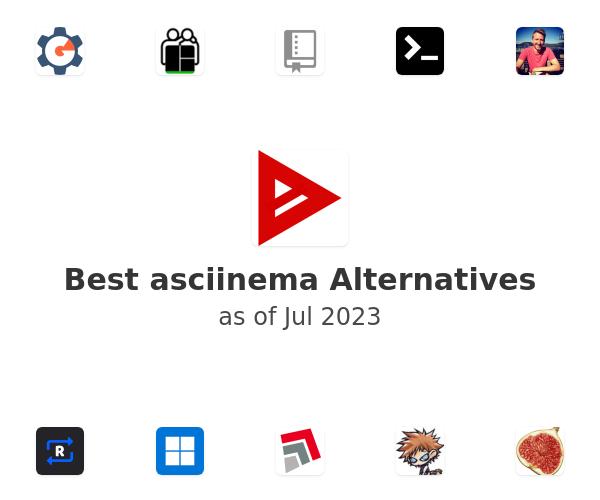 Best asciinema Alternatives