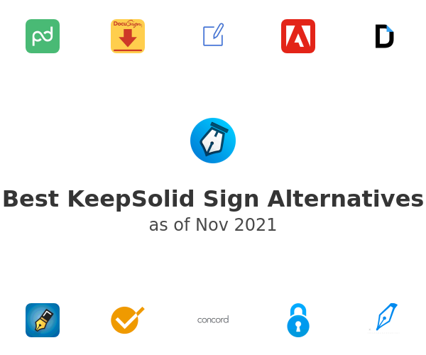Best KeepSolid Sign Alternatives