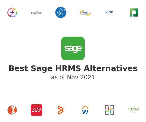 Best Sage HRMS Alternatives