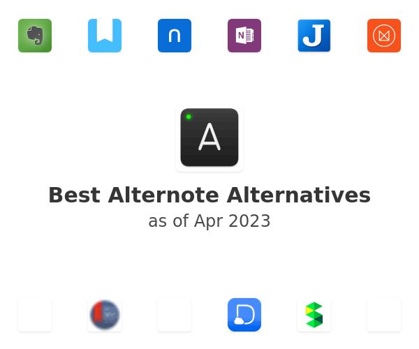 Best Alternote Alternatives