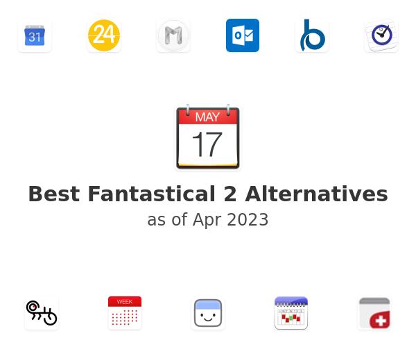 Best Fantastical 2 Alternatives