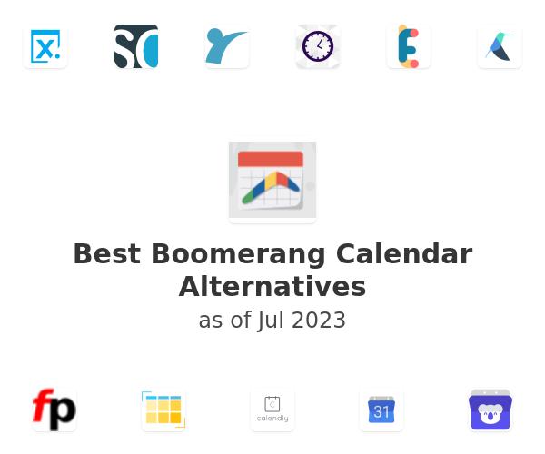 Best Boomerang Calendar Alternatives