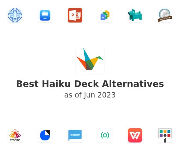 Best Haiku Deck Alternatives
