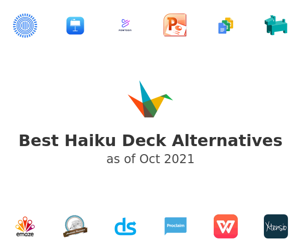 Best Haiku Deck Alternatives