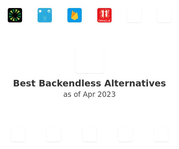Best Backendless Alternatives