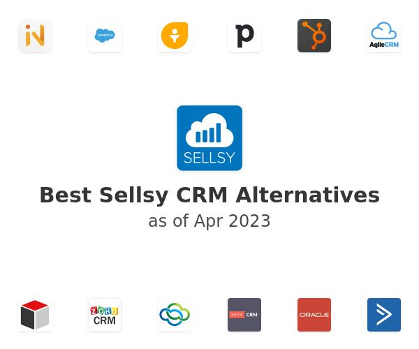 Best Sellsy CRM Alternatives