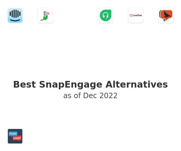 Best SnapEngage Alternatives