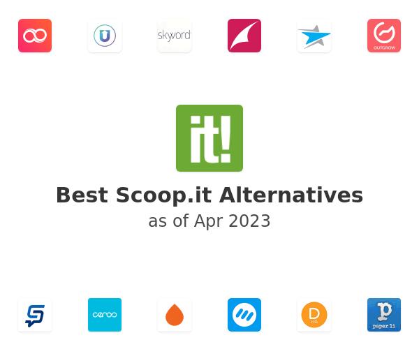 Best Scoop.it Alternatives