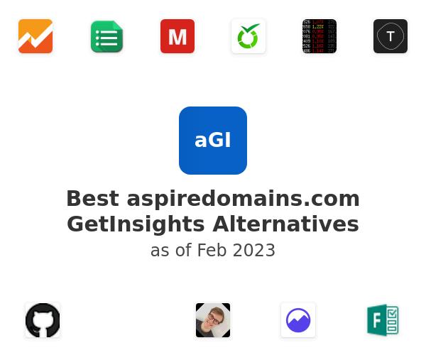 Best GetInsights Alternatives