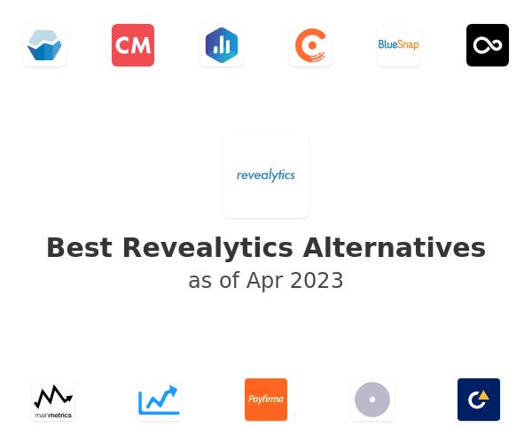 Best Revealytics Alternatives