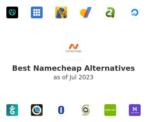 Best Namecheap Alternatives