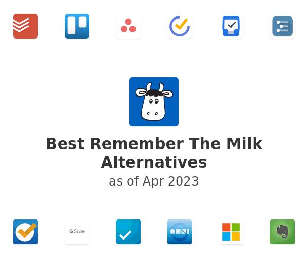 Best Remember The Milk Alternatives