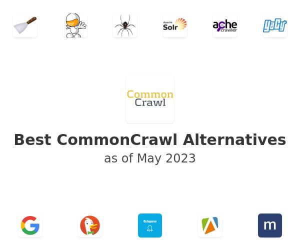 Best CommonCrawl Alternatives
