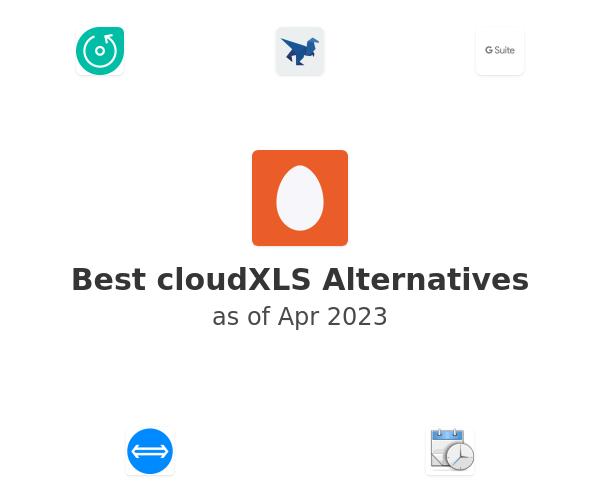 Best cloudXLS Alternatives