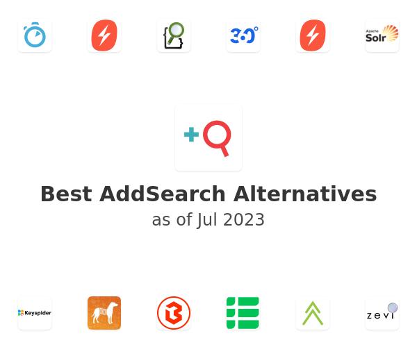 Best AddSearch Alternatives