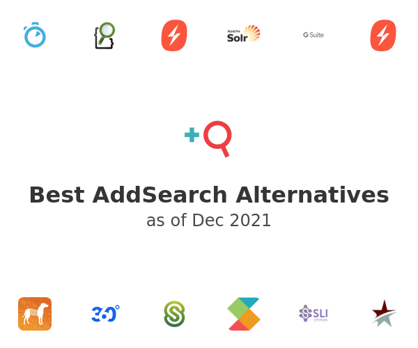 Best AddSearch Alternatives