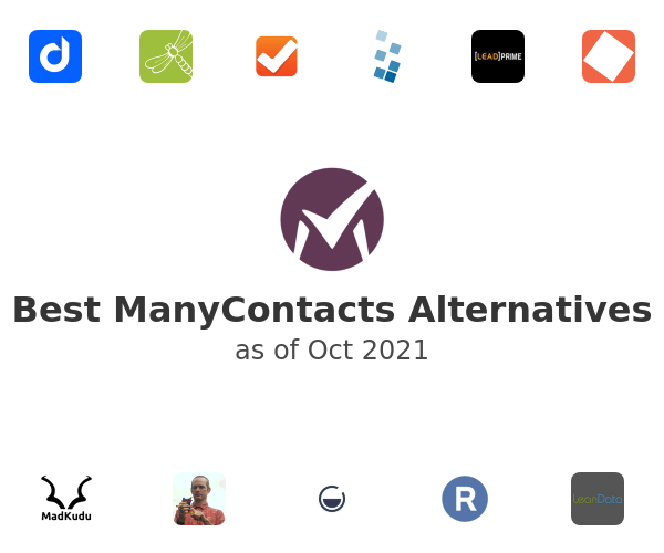 Best ManyContacts Alternatives
