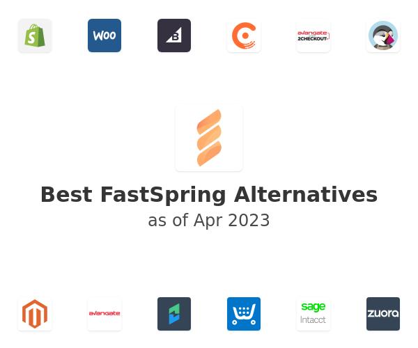 Best FastSpring Alternatives
