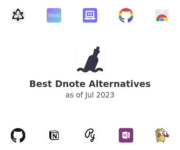 Best Dnote Alternatives