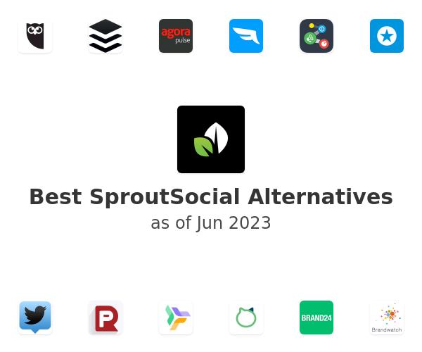 Best SproutSocial Alternatives