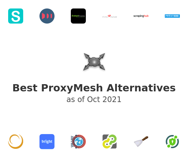 Best ProxyMesh Alternatives