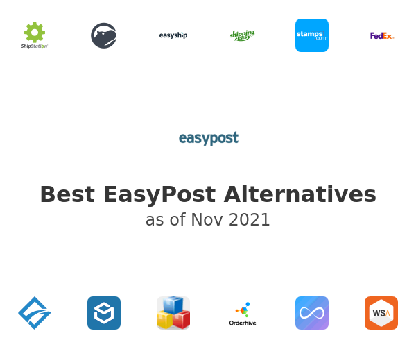 Best EasyPost Alternatives