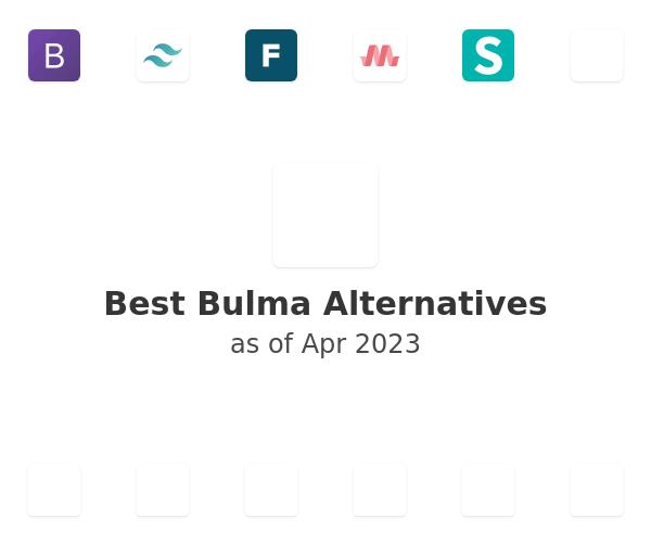 Best Bulma Alternatives