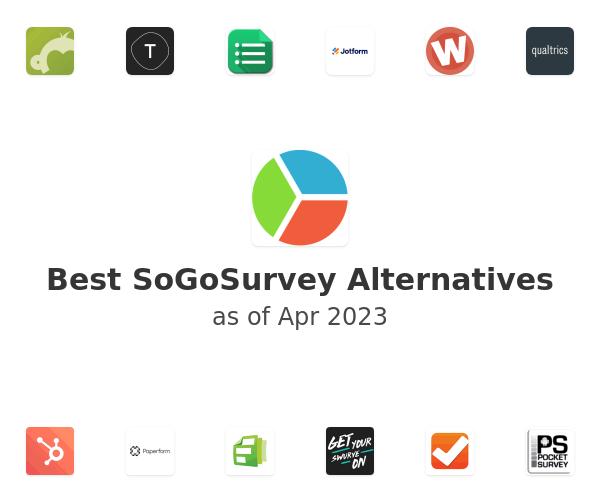 Best SoGoSurvey Alternatives
