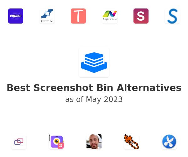 Best Screenshot Bin Alternatives