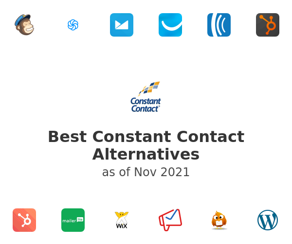 Best Constant Contact Alternatives