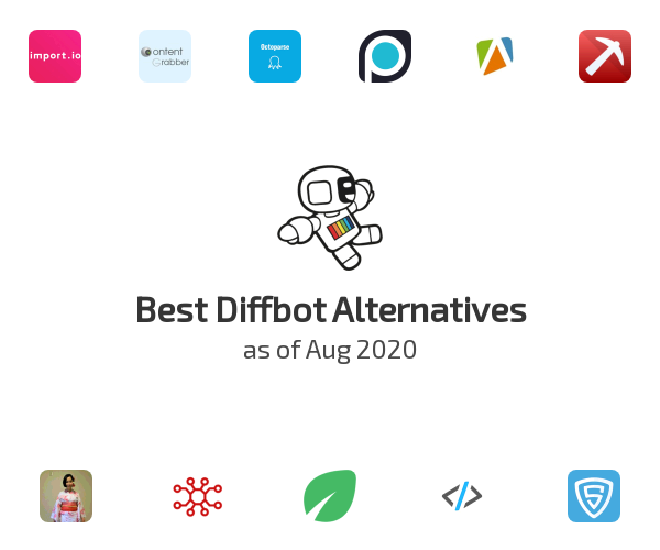 Best Diffbot Alternatives
